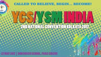 YCS/YSM India to hold 2nd National Convention in the city of Joy, Kolkata : 21-26 May 2017