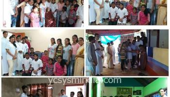 Mangalore Diocese YCS Celebrates 'Share – Care September 2018' with Devotion and Emphathy