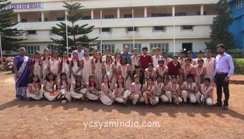 National Volunteer's Visit to Units - Gulbarga Diocese, Karnataka Region